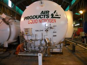 nitrogen cryogenic tank