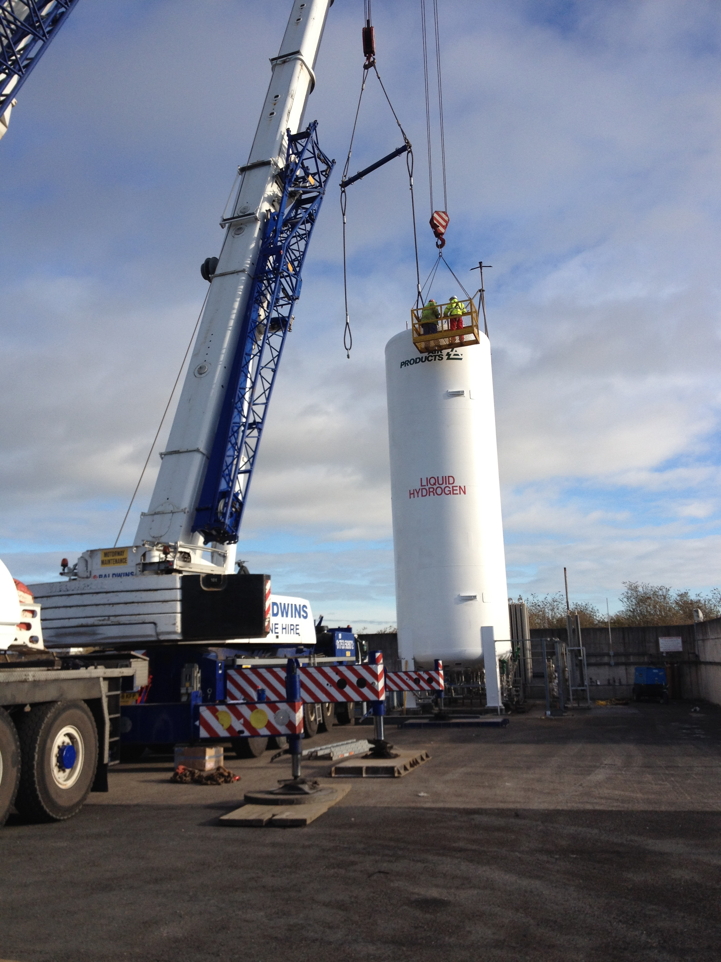 cryogenic tank refurbishment by CTM Europe