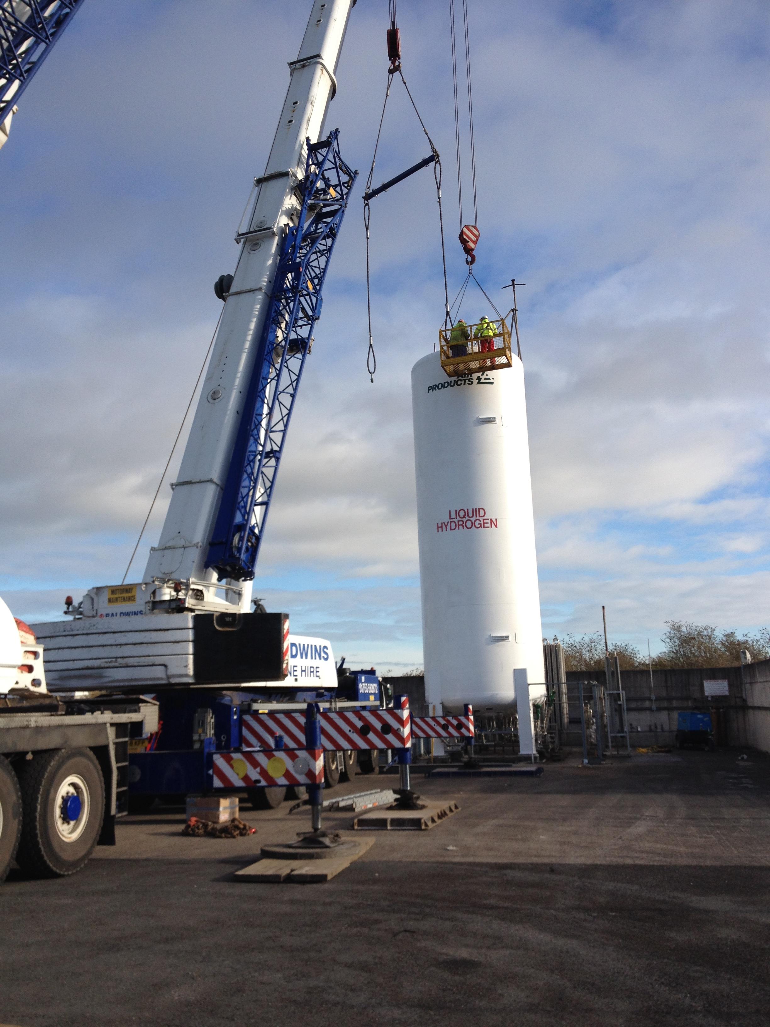 cryogenic tank refurbishment by CTM Europe